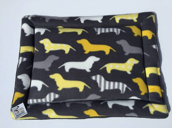 Dachshund Bed Dog Crate Pad Dog Bed Small Weenie Dog Crate Pet