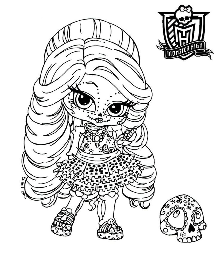monster high coloring pages coloringpages kidscoloring