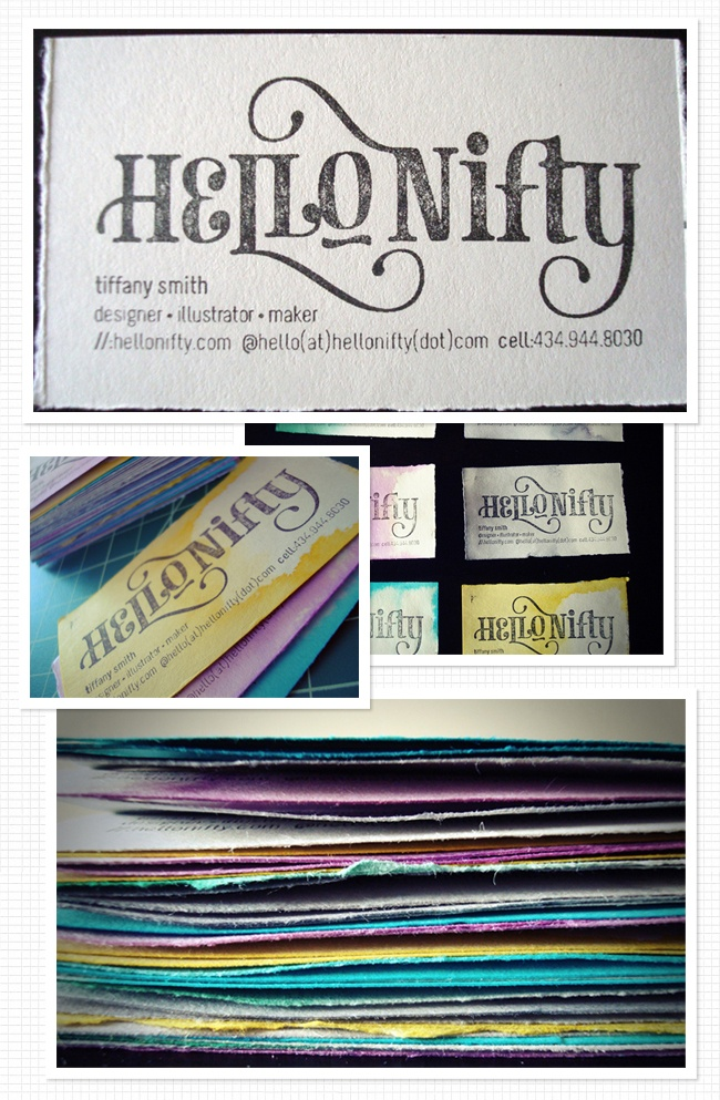 lovely business cards: Homemade Watercolor, Watercolor Business Cards, Business Cards Inspirations, Biz Cards, Ballin Cards, Greeting Cards, Stamped Business Cards