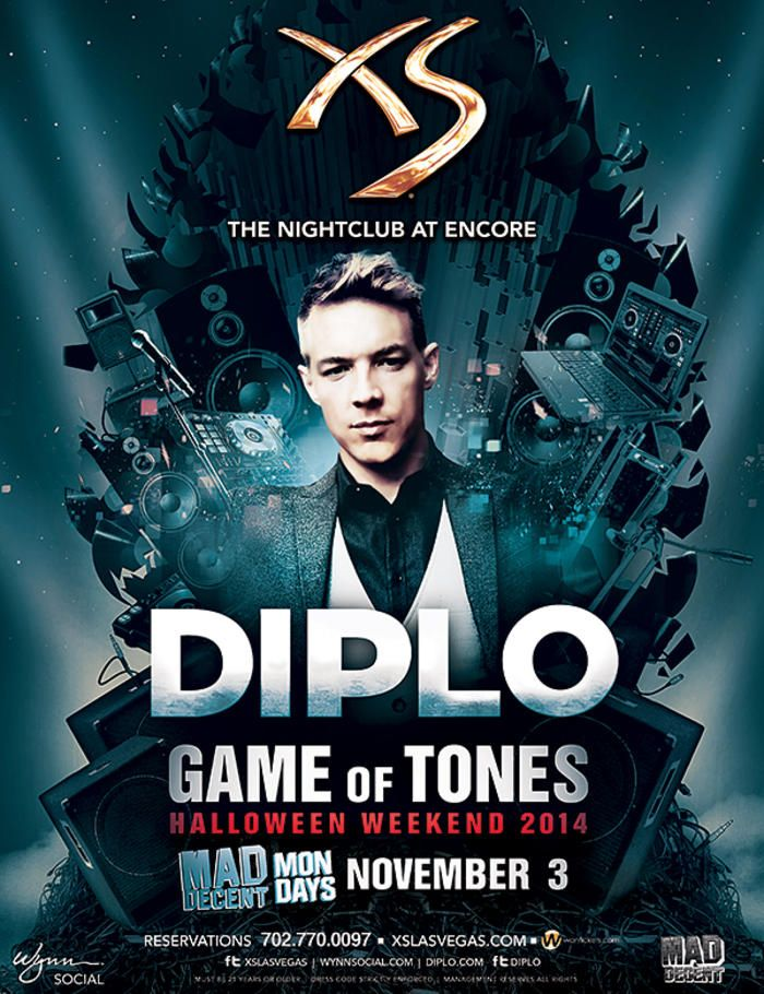 diplo game of tones xs nightclub encore las