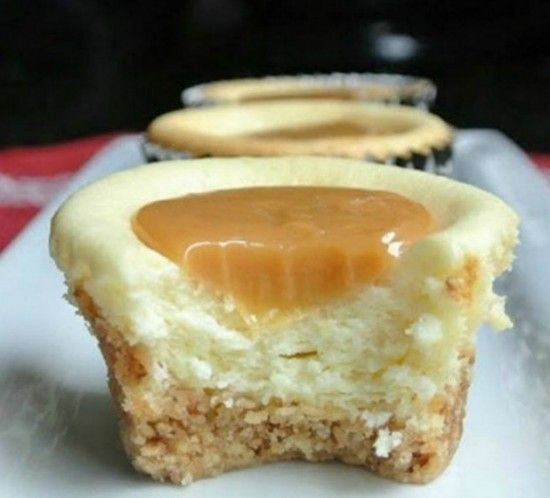 Caramel Cheesecake Bites Gluten Free