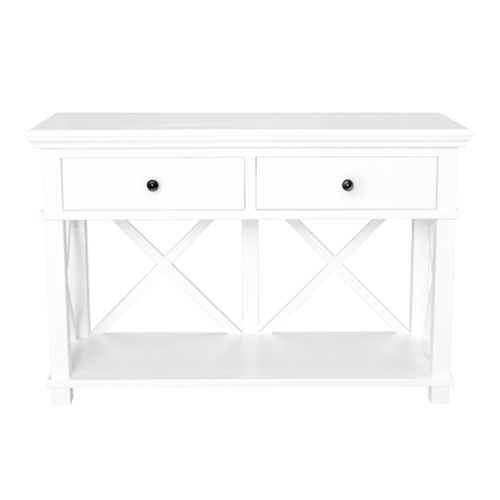 View and buy furniture online now from Maison Living. This beautifully hand-crafted Hamptons Cross Console Table 2 Drawer - White is part of our select collection of beautiful Hamptons Inspired furniture. Stunning furniture at affordable prices.