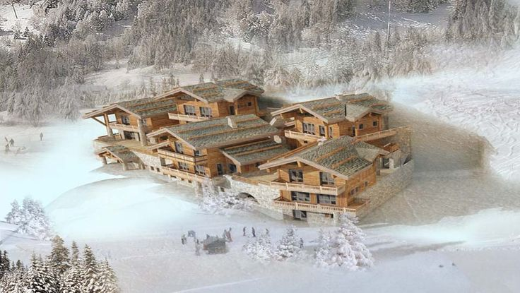 Have you ever seen a winter wonderland?  Check out these 11 brand new private freehold chalets in the amazing Sainte-Foy ski resort. Prices start from 1.4m to 1.68m €.  Sainte-Foy # Les hauts du Monal