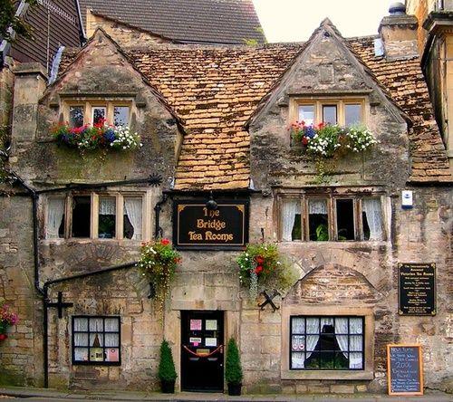The Bridge Tea Rooms, Bradford-on-Avon, Wiltshire, England