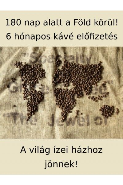 Kávé előfizetés