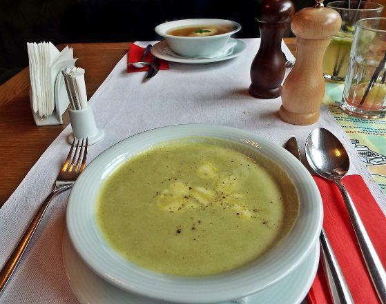 Supa cremă de mazăre