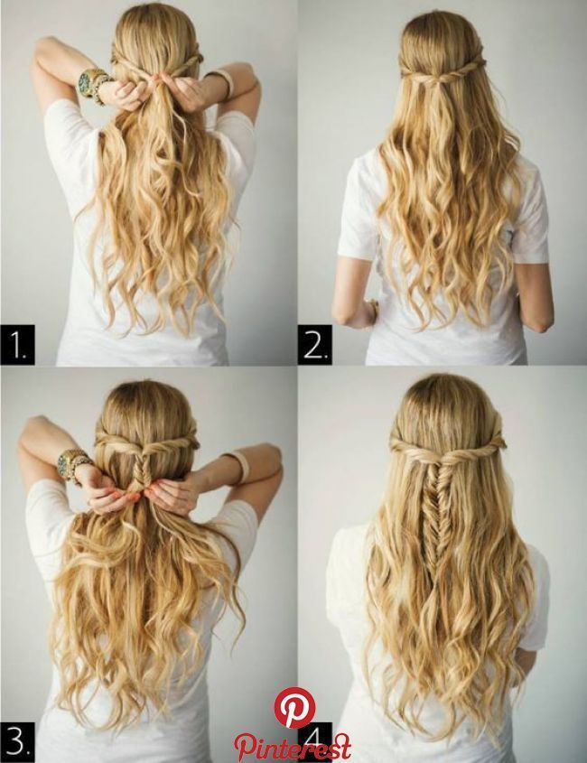 Simple Hairstyle Ideas Ready For Less Than 2 Minutes 60 Beauty My Hairstyles Simple Hairstyle Ideas R In 2020 Hair Styles Easy Hairstyles Braids For Long Hair