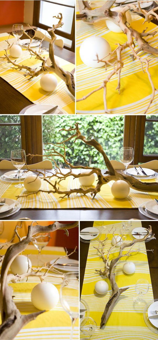 Best outside the vase low cost centerpiece ideas