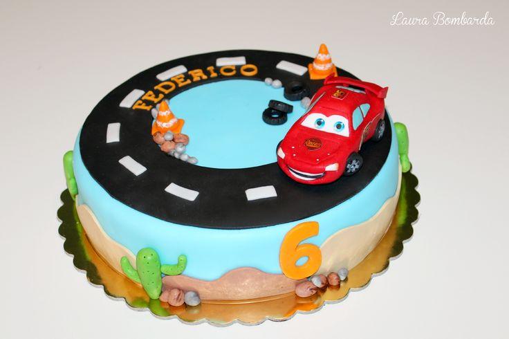 cars saetta cake