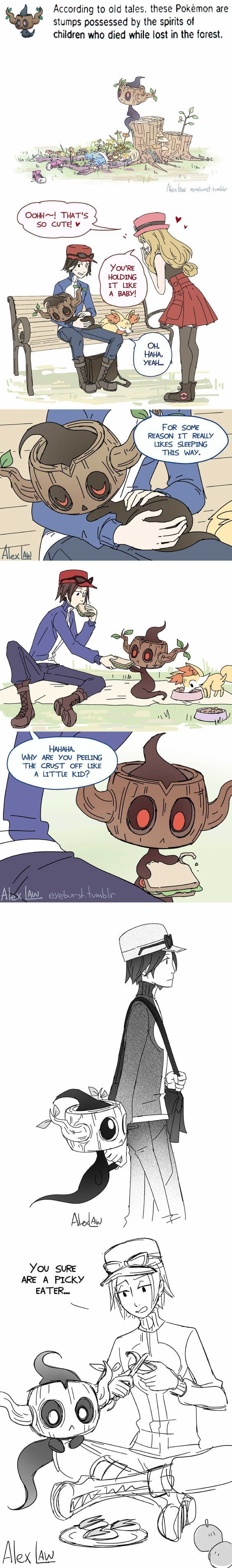 The fk Pokemon?? Some deep dark shit