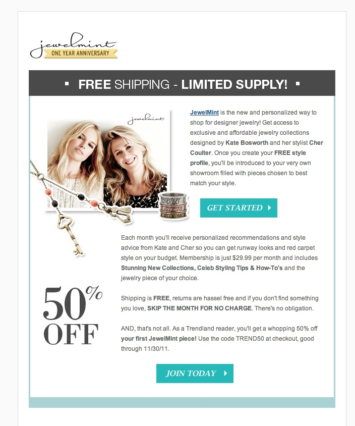 20 best email newsletter design images on pinterest email httpjewelminthow it works fandeluxe Gallery