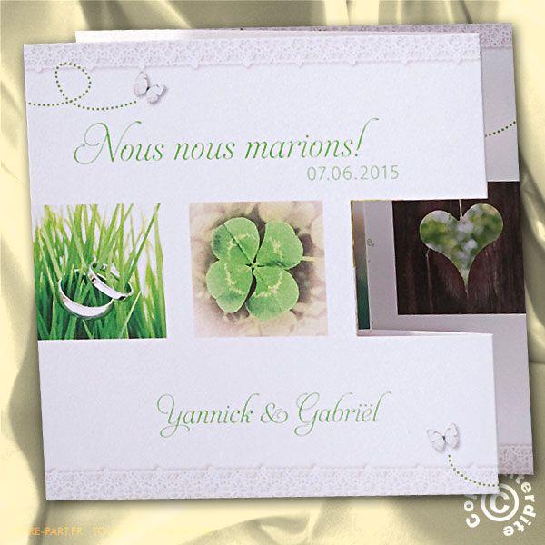 10 best Faire part mariage images on Pinterest