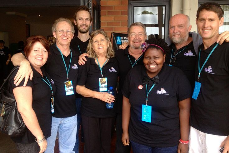Group from Norwegian Settlers at the GLS 2012 at Kloof Harvest Church in Durban