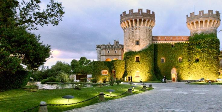 Castell de Perelada, Girona, Empordà, Catalonia