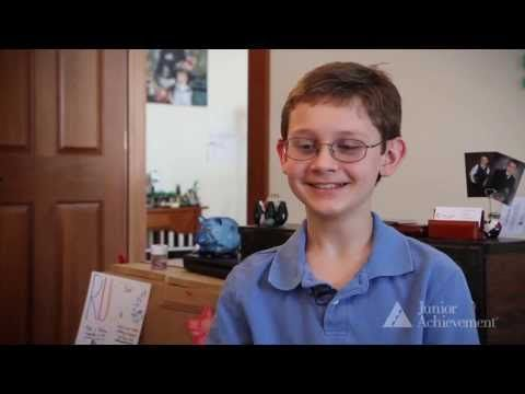 An adorable video about a child's interaction with entrepreneurship and Junior Achievement of Central Indiana.