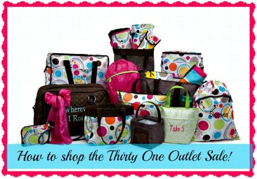 thirty one will be the death of me....lol....crack How To Shop A Thirty One Outlet Sale