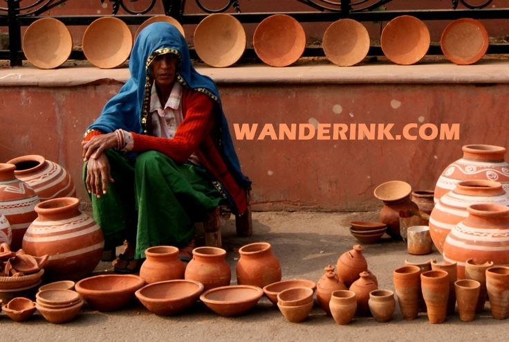 'Kagzi' or wafer thin pottery is unique to Alwar. Today there are only very few potters even here who are into it. Do your bit to ensure the art doesn't die - pick one when passing through.