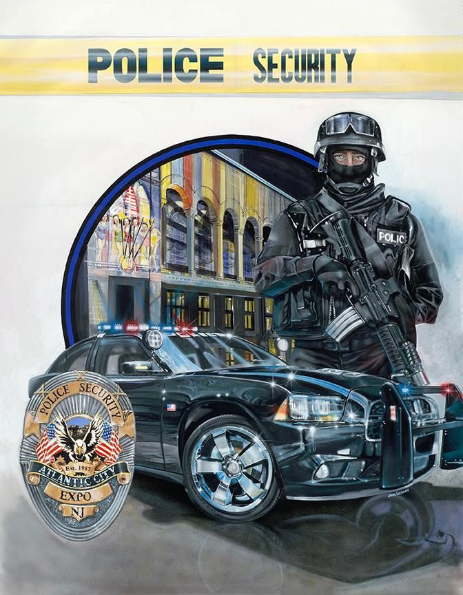 Police Security Expo. NJ . The National Law Enforcement Memorial In Washington DC has inspired me to paint these pieces of fine art for all Law Enforcement and there families. Blue Line Studios is located in Warrenton VA. and covers Washington DC, Maryland and Virginia. We also have a new location in Southampton VA.