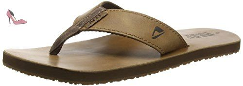 Reef R0232, Leather Smoothy, Tongs Homme, Marron (Bronze Brown), 39 EU (UK 6/US 7) - Chaussures reef (*Partner-Link)