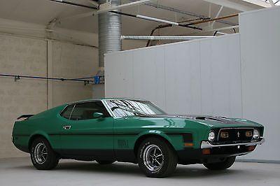 eBay: eBay: 1971 Ford Mustang Mach 1 - Fully Restored & UK Registered