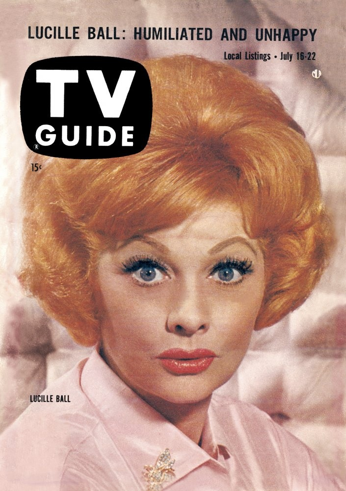 Lucille Ball - TV Guide July 1960 | Magazines ~ 1960's | Pinterest