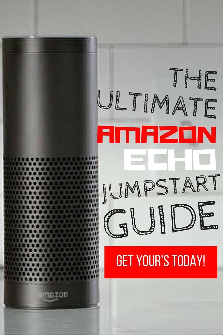 The Ultimate Amazon Echo Jumpstart Guide- www.theteelieblog.com  Amazon Echo is now one of the best-selling gadgets on the market. It's not just a simple speaker; it is a device that has become the official companion for every home or office. Allowing convenience and easy assistance to any user.  #amazonecho
