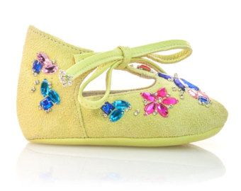 Baby Shoes Girl Baby Shower Gift Baby Moccasins Newborn Shoes Princess Baby…