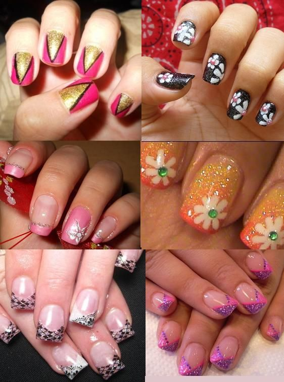 29 best nail designs for teens and young girls images on pinterest cool and funky nail art designs who wants plain boring nails anymore so girls go funky and creative with your short nails experiment and try different prinsesfo Choice Image