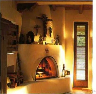 1000 images about old santa fe style on pinterest santa for Fireplaces southwest