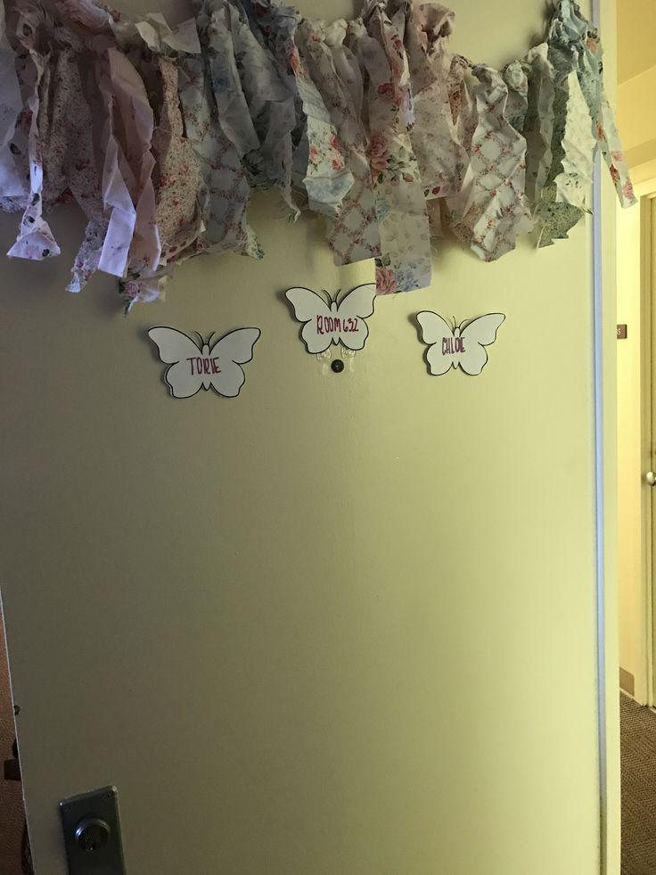 Spring Dorm Door Decor