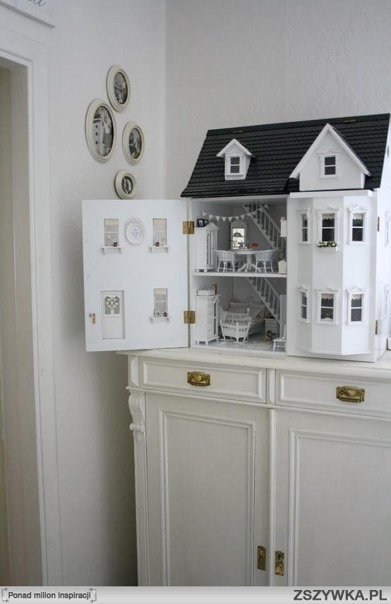 White Dollhouse.