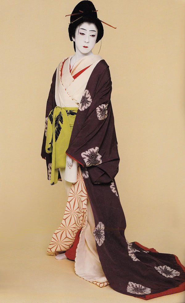 Bando Tamasburo, Male Kabuki Legend, by Kishin Shinoyama.