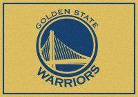NBA Golden State Warriors Mats - Golden State Warriors Spirit NBA Basketball Logo Area Rug. $69.99 Only.