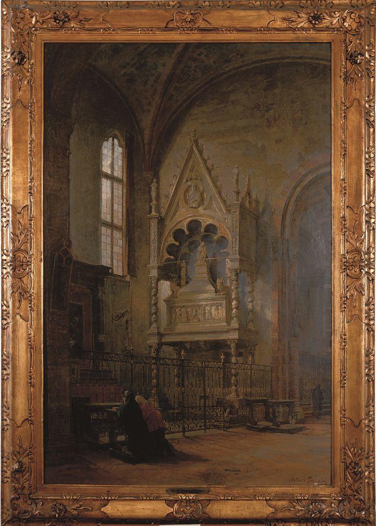 Arturo Ferrari, Cappella Visconti. #pittura #collezioneBPM