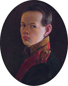 Alexander II (1818 - 1881). Tsesarevich from 1825 until 1855, when he became Tsar. He succeeded his father as Emperor.