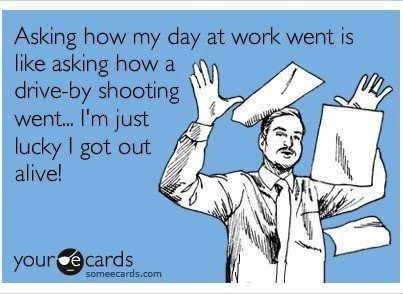 Hahahahaha! Some days this is how I feel!