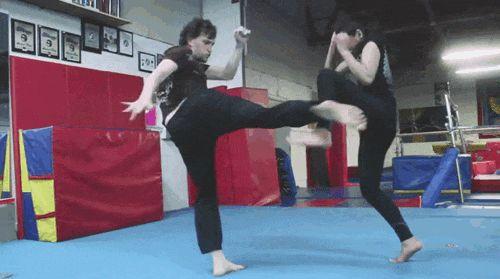 crazy kung fu girl