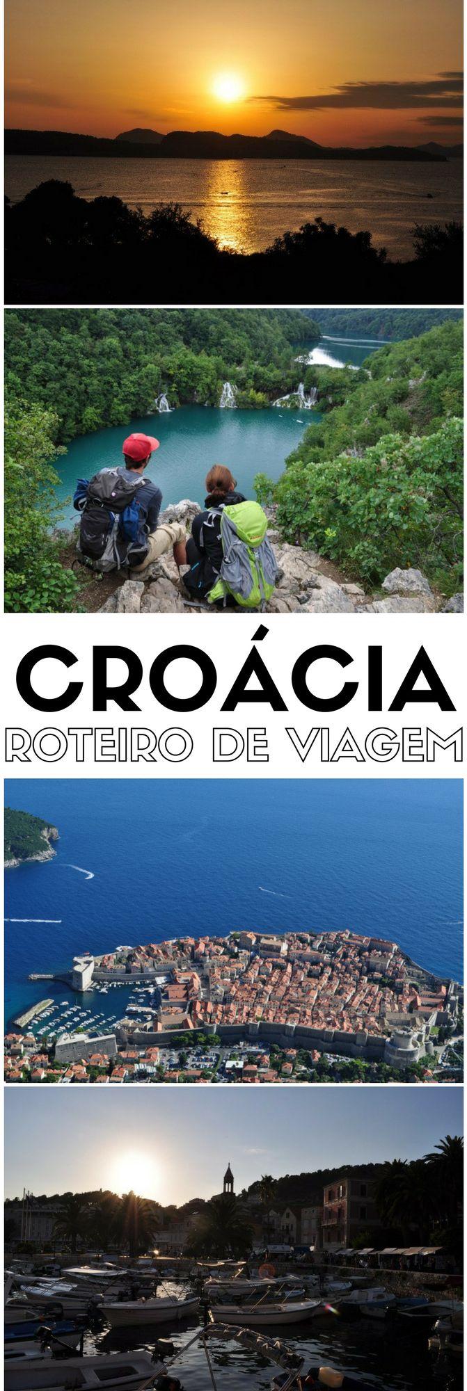 Nosso planejamento, roteiro, hotel e transporte de nossa viagem pela #Croácia, onde visitamos cidades como de #Dubrovnik, #Hvar, #Zagreb, #Zadar e #Plitvice