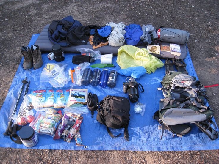 Backpack shakedown - what a real backpacker has in his pack.  See the complete backpacking gear list and supplies here.