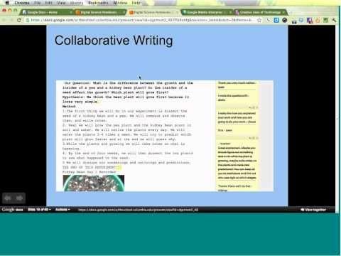 Digital Science Notebooks with Google Apps webinar - YouTube