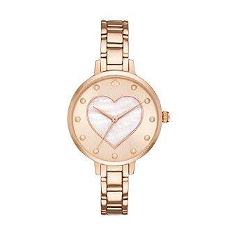 kate spade new york® Heart Dial Gramercy Watch