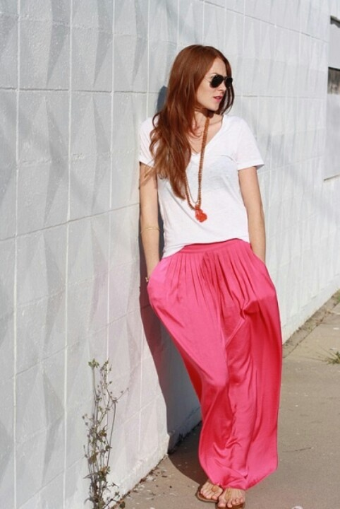 1000  images about ♥How wear maxi skirts..♥ on Pinterest  Blue ...