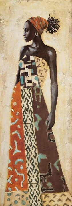 African Art. This piece of artwork incorporated modern technique and style with…