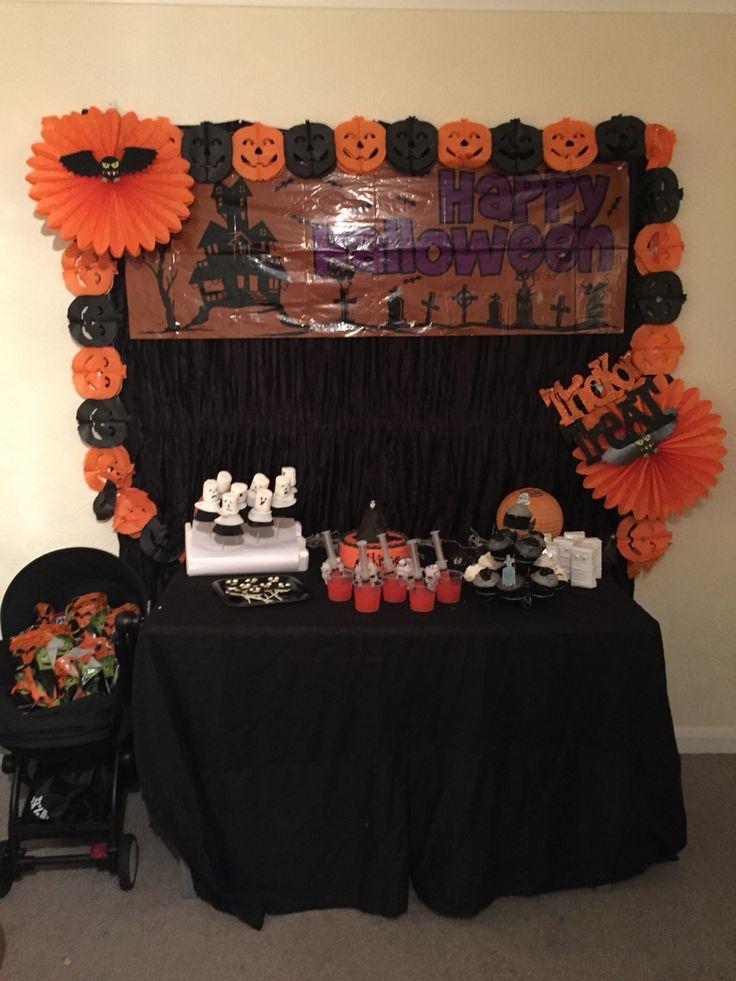Halloween Dessert Table Decor