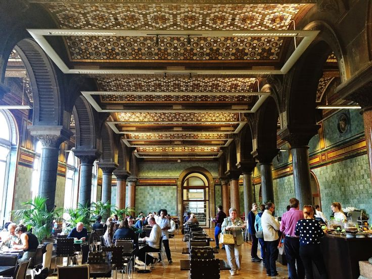 Breadsticklers: Tiled Hall Cafe - Leeds in Leeds art gallery and Leeds library