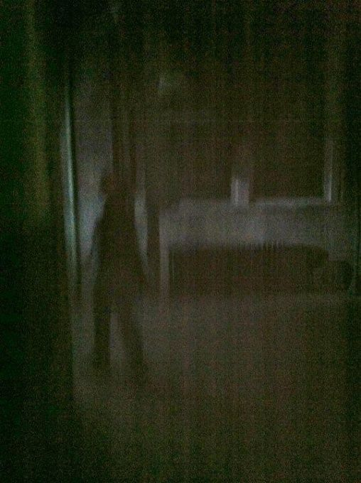 This was taken at Waverly Hills Sanatorium in Louisville, KY in August of last year. There were no children in the building as they do not allow children on the tours. I snapped random pics with my phone, and was surprised to find this one after the tour.