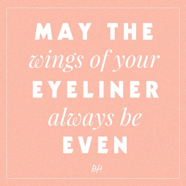 43 Best Eyeliner Humor Images On Pinterest