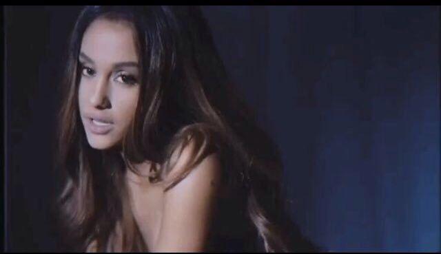 "music video for ""Dangerous Woman"" soon ☁️"