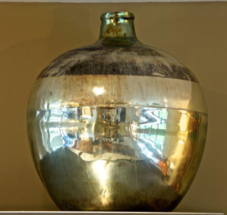 A giant mercury olive jar