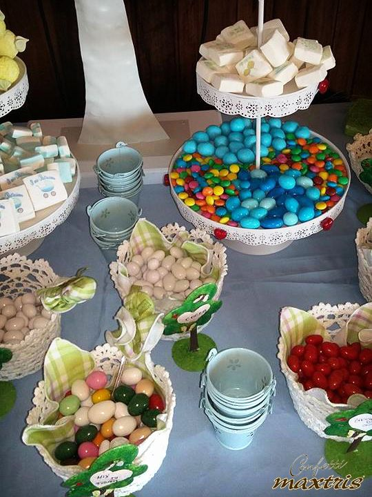 #confetti #maxtris #confettata #candy #buffet #battesimo #party #festa